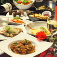 ★サングリア・ワインもOK★プレミアム2.5時間飲み放題&料理8品付コース