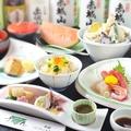 料理メニュー写真点心天ぷら鍋のコース
