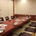 6名様テーブルが2つあります。【小作/駅近/居酒屋/個室/海鮮/刺身/和食/飲み放題/座敷/宴会/接待/歓送迎会/誕生日】