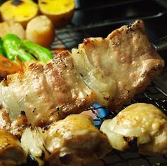 特大伊達鶏串/特大豚串 各種1本 (塩・タレ)