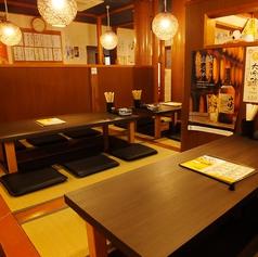 1階は2名様テーブルは2卓ございます♪お友達やご夫婦でのご利用におすすめです♪