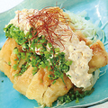 料理メニュー写真特製和風タルタルソースの鶏南蛮