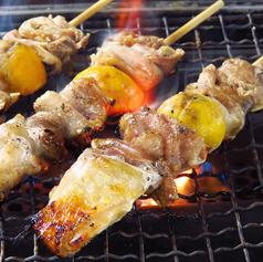 伊達産鶏串/樽前豚串/美唄鶏もつ串 各種1本 (塩・タレ)