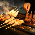 料理メニュー写真【炭火焼き鳥】(各種)