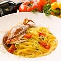 料理メニュー写真■渡り蟹のトマトクリームソース