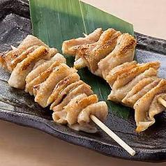 鶏皮串/ポンポチ串/砂肝串/鶏レバー串 各種1本 (塩・タレ)