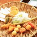 料理メニュー写真【串かつ】(各種一串)