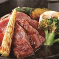 【2時間飲み放題付】牛ステーキ黒胡椒焼・ふぐの唐揚げを含む《竹》コース7品(5000円)