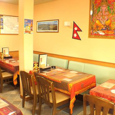 インド レストラン マターの雰囲気1