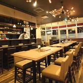【忘年会、新年会、歓迎会、送別会、接待】店内のお席は全て少し高さを出したテーブル&イスでご用意させて頂いてます!もちろん立食パーティーもOK!様々なシーンでご利用頂ける豊富なコースをご用意しています。詳細はコースページをご覧ください。