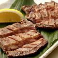 料理メニュー写真『厚切り』牛タンのステーキ