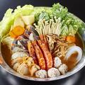 料理メニュー写真海鮮味噌ちゃんこ鍋