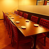 14名テーブル完全個室