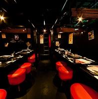 最大42名までの宴会可◎三宮駅で食べ飲み放題宴会!