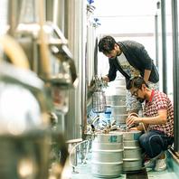 自社の醸造所にてオリジナルビールを醸造しております。