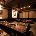気軽なお食事にも最適な大型個室です。