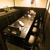 8名様までOKのテーブル個室は周りを気にせずお楽しみいただけます。