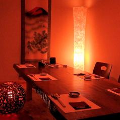 【お座敷】【完全個室】8名個室[天文館/鹿児島/居酒屋/和食/割烹料理/飲み放題/宴会/個室/完全個室/接待/肉/魚]