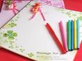 歓送迎会コース利用特典…【色紙とペン】ご用意します!心のこもったメッセージで感謝やお祝いの気持ちを伝えましょう☆