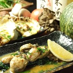 料理メニュー写真牡蠣バター炒め