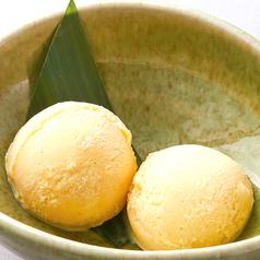 料理メニュー写真低糖質 バニラアイス