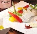 料理メニュー写真オリーブオイルde焼き野菜
