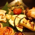 料理メニュー写真焼野菜盛り合わせ