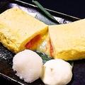 料理メニュー写真●自社農場のつまんでご卵の玉子焼き各種