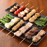 本格焼き鳥食べ放題が新宿でお楽しみ頂けます◎