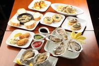 牡蠣尽くしの様々なお料理
