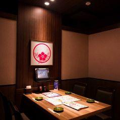 気軽なお食事にも最適な店内です。【後楽園で居酒屋・蟹・海鮮・和食のお店をお探しなら北海道へ】