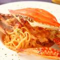 料理メニュー写真濃厚!渡り蟹のトマトクリーム