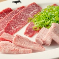 料理メニュー写真塩焼きカルビセット