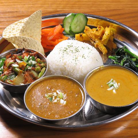 駅チカ!!本格インド・ネパール料理をリーズナブルに食べれるお店♪