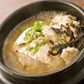 料理メニュー写真白濁スープの鶏飯