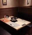 2~4名までのテーブル席は3卓ご用意しております。席のみ予約OK!