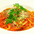 料理メニュー写真本日のトマトソースパスタ