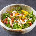 料理メニュー写真うにとかにの海鮮サラダ