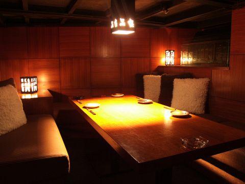 ■人数に応じた個室完備。歓送迎会の御予約承っております。■