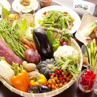 農家さん直送の新鮮野菜!