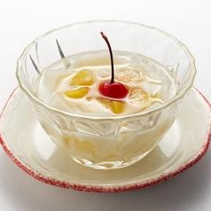 フルーツ入りアンニン豆腐 小盆