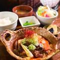 料理メニュー写真えびすけ特製!牛すじ豆腐定食
