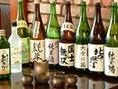 お酒の種類も豊富。