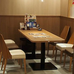 6名様 テーブル席