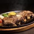 料理メニュー写真サーロインステーキ 220g
