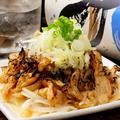 料理メニュー写真炙り鶏皮ポン酢