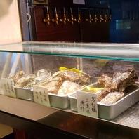 全国各地から届く新鮮で高品質な牡蠣は種類も豊富!