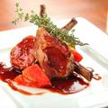 料理メニュー写真オーストラリア産 仔羊の背肉のオーブン焼き