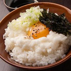 山芋のトロトロ卵かけ/牛しぐれ煮ご飯