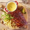 料理メニュー写真◆ダンク!バックリブのロースト~チーズソース添え~